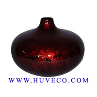 Traditional Vietnam Handmade Lacquer Vase LC106