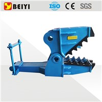 BEIYI excavator oil cylinder acting mechanical pulverizer concrete crusher