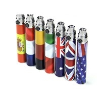 Electronic cigarette battery EGO flag battery best selling battery in promotion