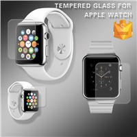 Hot For Apple Watch iWatch Anti-shocked Scratch Proof 0.2mm Asahi Tempered Glass Screen Protector