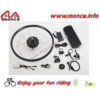 Rear Rack Battery Kits with Superb DC Motor and Lithium Battery
