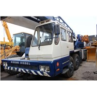 USED ORIGINAL 50 TON TADANO TG500-E TRUCK CRANE FOR SALE