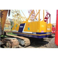 USED ORIGINAL 55 TON KOBELCO 7055 CRAWLER CRANE FOR SALE