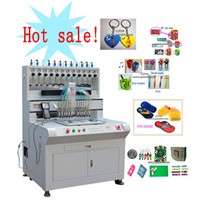 Automatic PVC keychain machine SGS CE ex-factory price leading manufacturer
