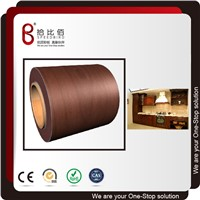 Wooden Grain Color Film Laminated Steel Sheet