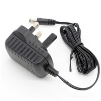 12W Switching Power Adapter 12V1a AC/DC Adapter with UK Plug