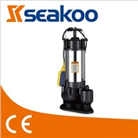 WQDS 0.55KW-1.5KW STAINLESS STEEL SUBMERSIBLE SEWAGE PUMP
