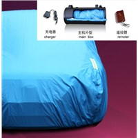 Automatic remote control car cover