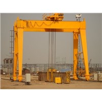 Outdoor Rail Traveling Single Beam Double Beam Gantry Cranes 10 ton,15 ton,20 ton,25 ton