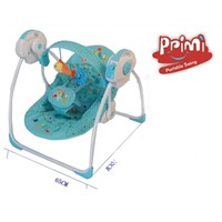 PPimi Electric Baby Rocking Chair Baby Cradle