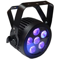 Profile Slim LED Parcans  Spot  Light 6IN1 RGBWA UV PARPRO Hex6 DJ Stage Light CE approved