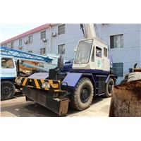 USED ORIGINAL 25 TON TADANO TR250M ROUGH TERRAIN CRANE FOR SALE
