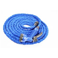 Deluxe Latex 25/50/75/100/150 Feet Expandable Flexiable Garden Water Hose pipe with Sprayer Nozzle