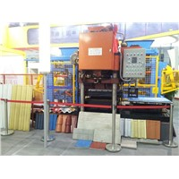 High quality of roof tile making machine for sale in Ethiopia