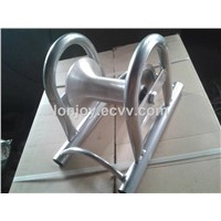 Land cable roller, Bridge cable pulley