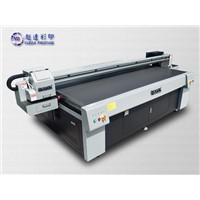 Large format digital inkjet UV printer to metal glass ceramic