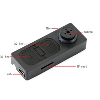 Mini Button DV Video PC DVR Cam Camera Voice Recorder 1280*960