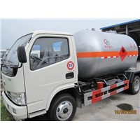 bulk LPG gas delivery truck for sale