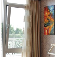 hot sale heat insulation aluminum window casement window fixed window