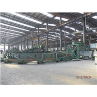steel strip accumulator for tube mill