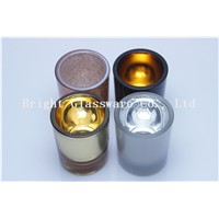 Beatiful design colorful candle holder, candle wedding souvenir for wholesale