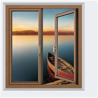 aluminum composite wood window and door casement window europe window