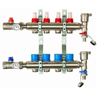 manifold for under floor heating