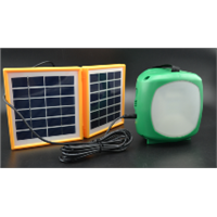 3W Portable Solar lantern for outside charging and home using