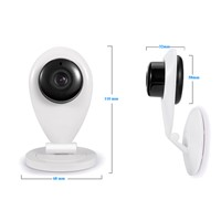 Cheapest Two Way Audio Burglar Alarm 720P IP wifi camera