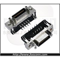 SCSI Connector 20Pin Right Angle Female CN-Type