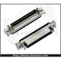 SCSI Connector 50Pin Straight Female CN-Type