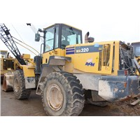 USED ORIGINAL KOMATSU WA320 WHEEL LOADER/USED WHEEL LOADER FOR SALE