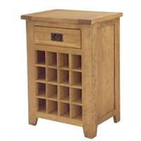 Wood Single Wine Rack/Wine Storage Cabinet