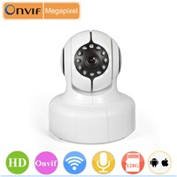 indoor wifi indoor 720p IP camera with 128G micro SD card