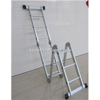Antislip multipurpose aluminum alloy folding ladder, step ladder