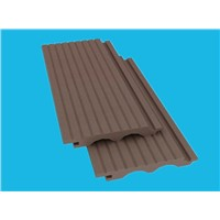 wpc outdoor decking wall cladding/wall panel/wall board