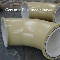Ceramic Tile lined elbows