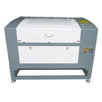 High precision 50w CCD laser cutting machine for woven labels, garment logos