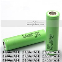 ICR18650-30B 3000mAH 3.7V Li-lon battery Original