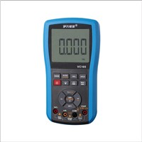 VC105 Multimeter Auto-range digital waterproof silicone meter with white backlight