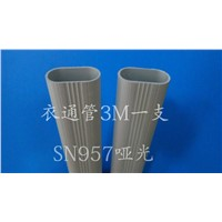 aluminum tube hanging clothes tube