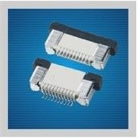 Single Row Vertical SMT Easy On FPC / FFC Connectors 4 ~ 100 Pin For Smartphone
