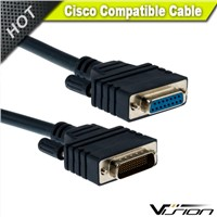 10FT CAB-X21FC Cisco HD60 Male to DB15 Female cable