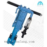 7655 mining pneumatic air leg hammer rock drill