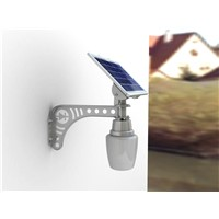 Bright white home solar wall light