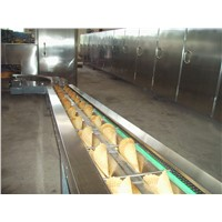 Automatic Rolled sugar cone baking line