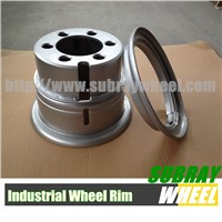 Wheels for Forklift truck, Mobile Cranes, Reach stackers and Container lifts