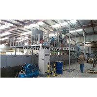 Intelligent FRP gel coat lightning sheet production line