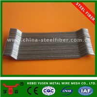 glued steel fiber for concrete reinforcement in China