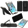 Black Hard Case Cover Shell Belt Clip Holster For iPhone 6 Plus 5.5